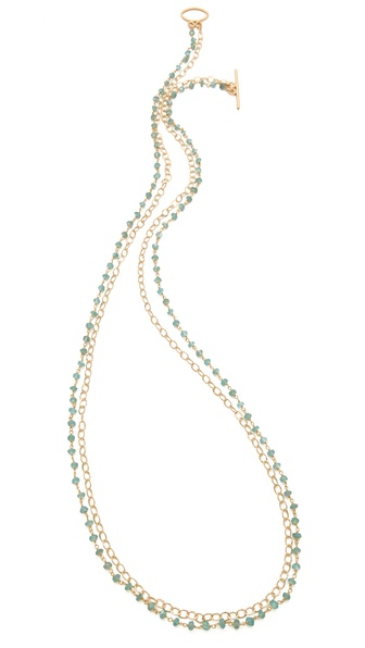 Heather Hawkins Apatite Necklace