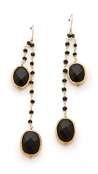 Heather Hawkins Black Onyx Earrings