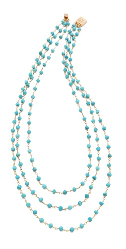 Heather Hawkins 3 Layer Gemstone Necklace