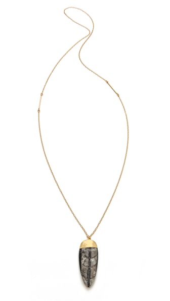 Heather Hawkins Orthsetris Long Pendant Necklace