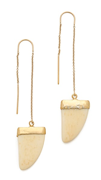 Heather Hawkins Bone Thread Through Earrings