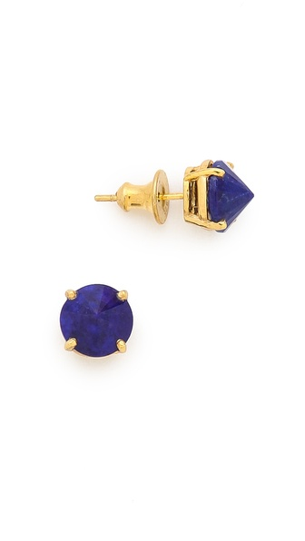 Heather Hawkins Stone Stud Earrings