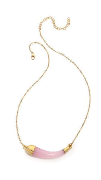Heather Hawkins Twisted Horn Necklace