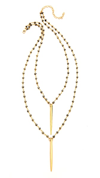 Heather Hawkins Annie Double Spike Necklace