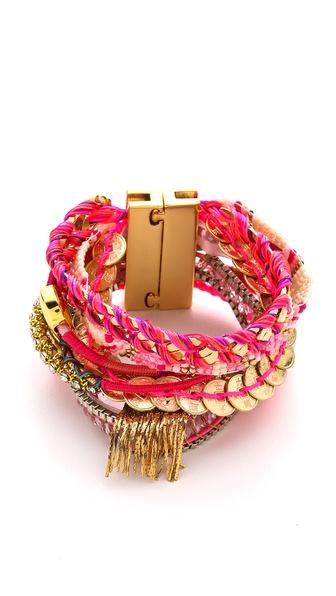 贝壳手链的编织方法
