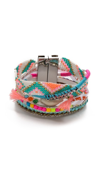 Hipanema Fluo Multi Bracelet