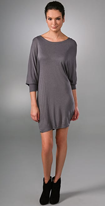 Helmut Lang Hooded Dress