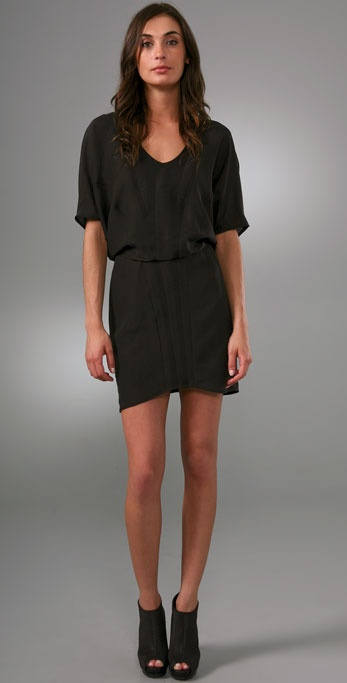 Helmut Lang Pavement Combo Dress