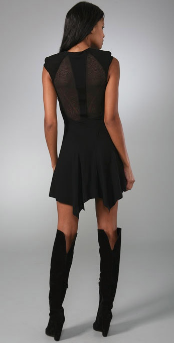 Helmut Lang Lace Back Dress