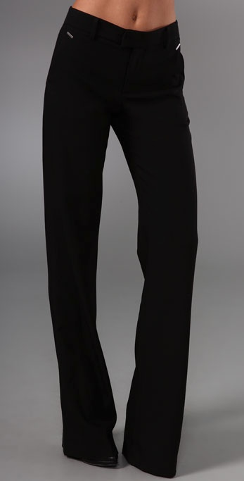 Helmut Lang Boot Cut Pants