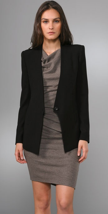 Helmut Lang Shaped Blazer