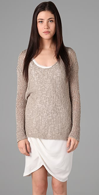 Helmut Lang Scoop Neck Sweater