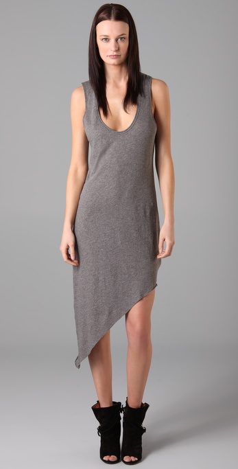 Helmut Lang Drone Sleeveless Dress
