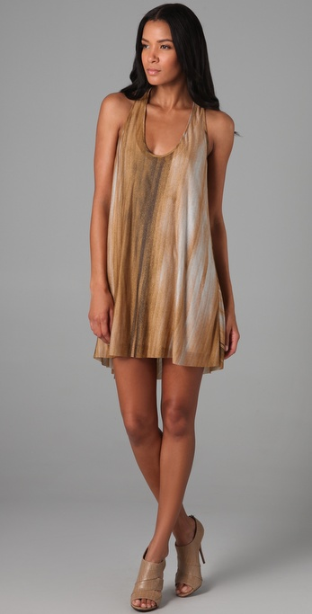 Helmut Lang Spray Tank Dress