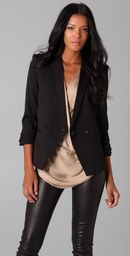 Helmut Lang Rolled Sleeve Blazer