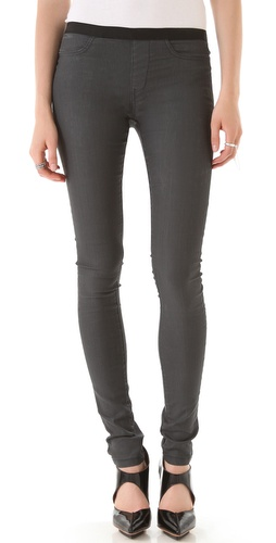 Shop Helmut Lang Waxed Denim Leggings and Helmut Lang online - Apparel,Womens,Bottoms,Leggings, online Store