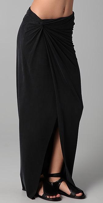 Helmut Lang Torrent Slit Skirt