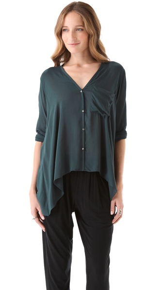 Helmut Lang Lush Voile Shirt