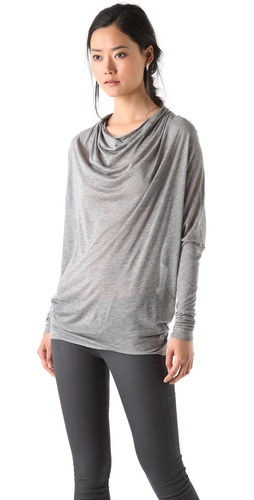 Helmut Lang Cowl Dolman Top