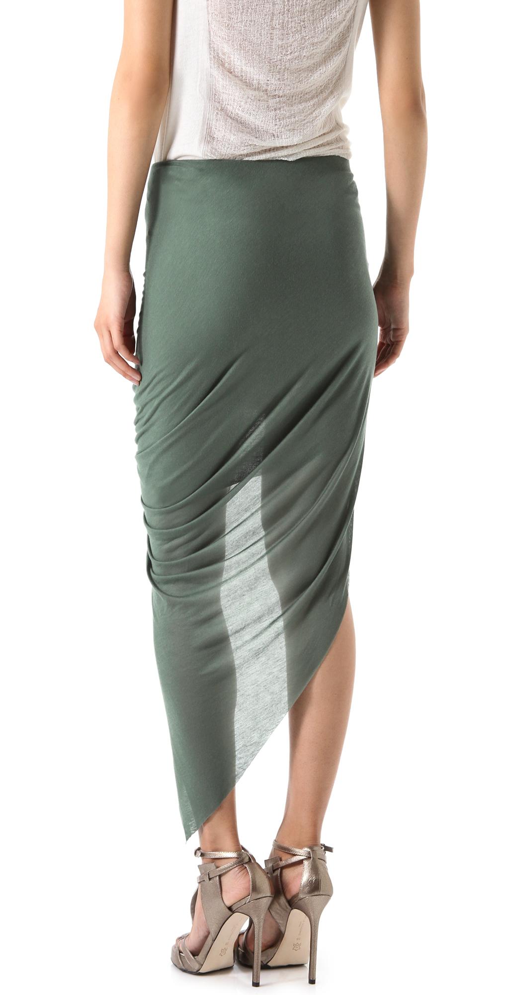 Перекрученная юбка