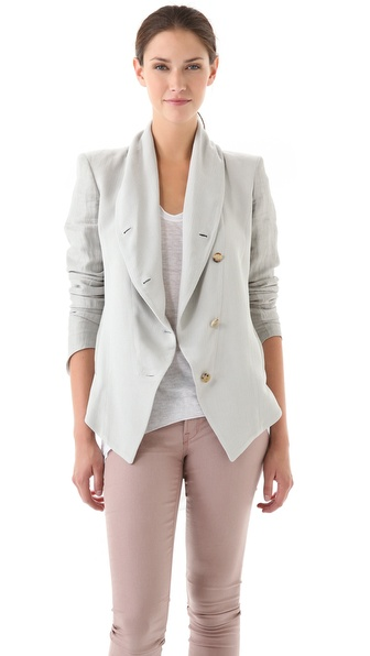 Helmut Lang Plexus Shawl Jacket