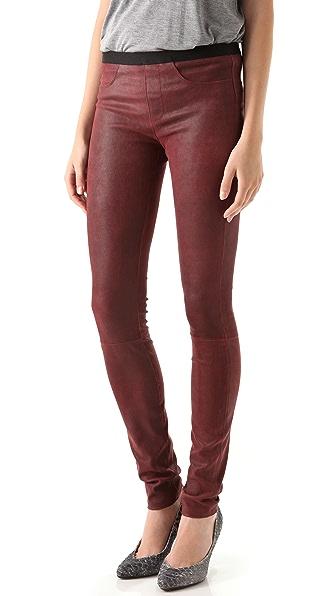Helmut Lang Cheyenne Leather Leggings