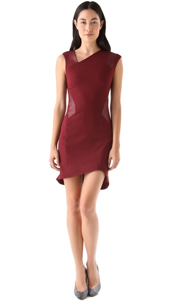 Helmut Lang Pixel Suiting Dress