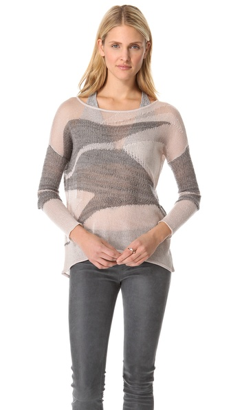 Helmut Lang Merging Texture Sweater