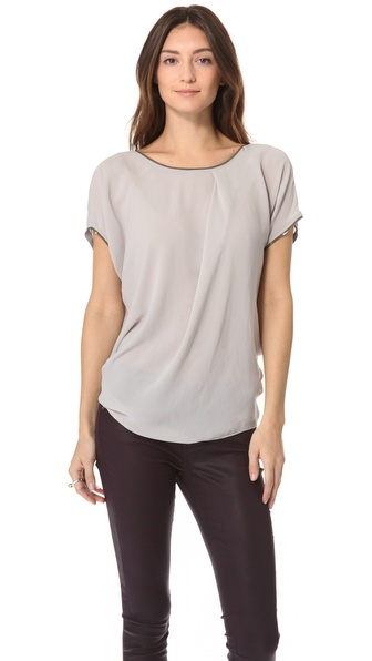 Helmut Lang Soft Shroud Drape Top