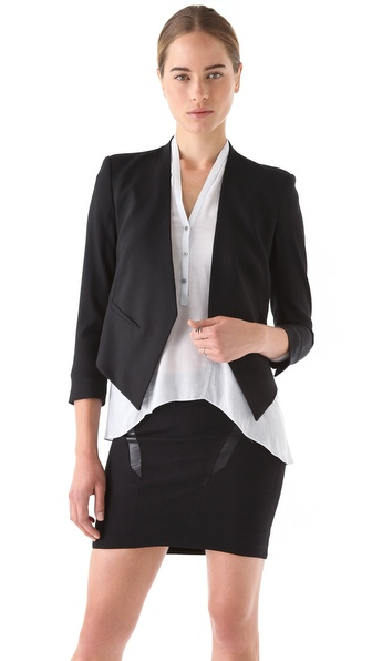 Helmut Lang Smoking Tux Blazer