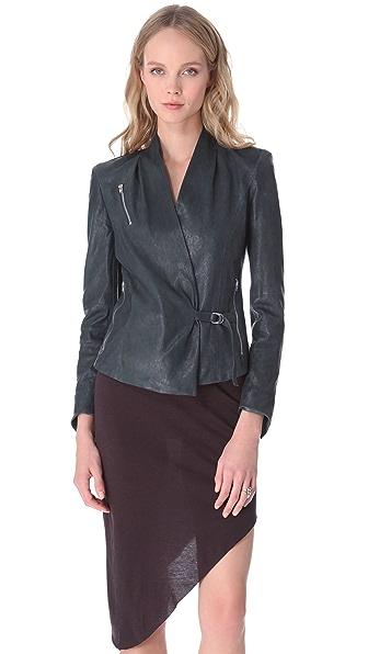 Helmut Lang Supple Leather Jacket