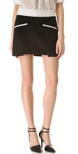 Shop Helmut Lang Era Pocket Miniskirt and Helmut Lang online - Apparel,Womens,Bottoms,Skirts, online Store