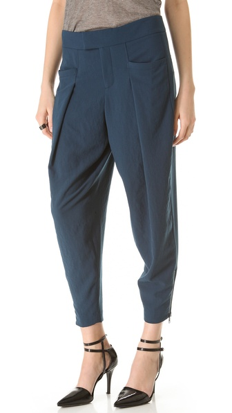 Helmut Lang Fluid Crepe Pants