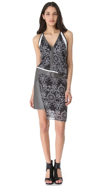 Helmut Lang Medallion Rubber Print Dress from shopbop.com