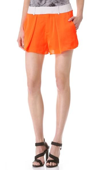 Helmut Lang Chroma Wide Leg Shorts