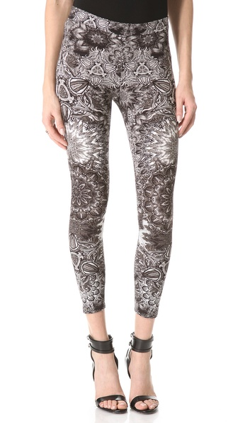 Helmut Lang Medallion Print Reflex Leggings