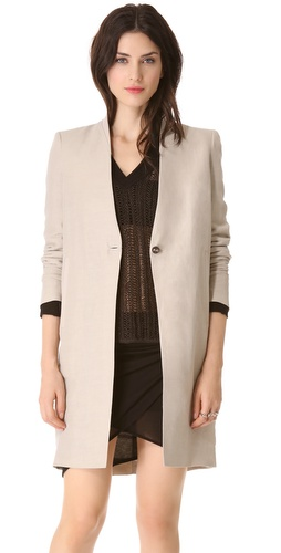 Helmut Lang Matrix Linen Jacket