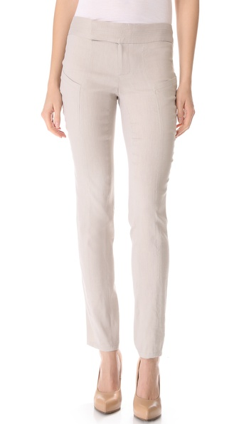 Helmut Lang Matrix Linen Pants