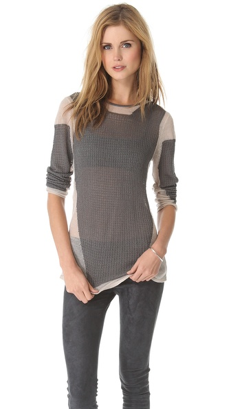 Helmut Lang Modern Lace Pullover