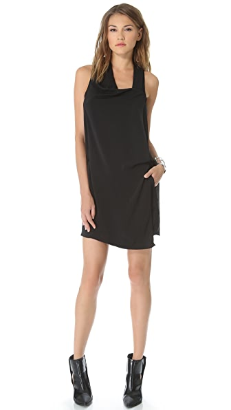 Helmut Lang Solar Drape Dress