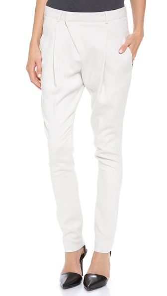 Helmut Lang Side Zip Cross Front Pants