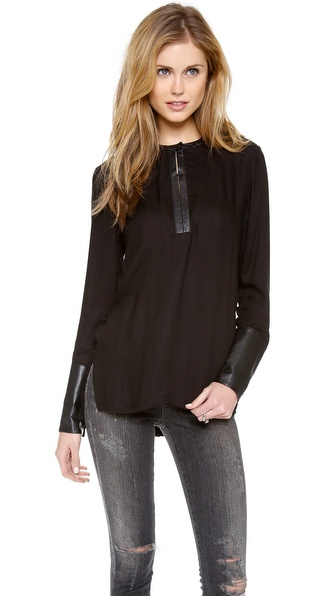 Helmut Lang Slit Detail Top