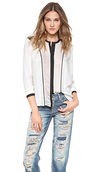 Helmut Lang Long Sleeve Blouse