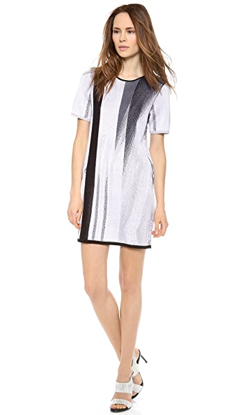 Helmut Lang Virga Jacquard Dress