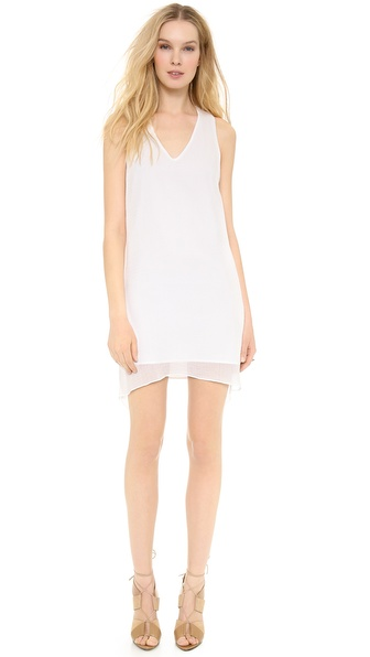 Helmut Lang Side Drape Dress