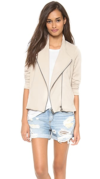 Helmut Lang Double Zip Sweatshirt Jacket