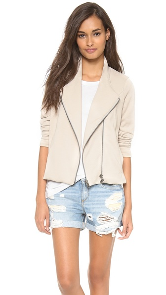Helmut Lang Double Zip Sweatshirt Jacket