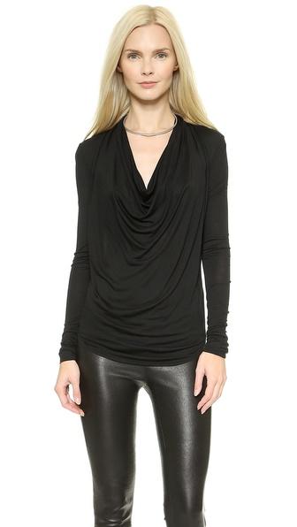 Helmut Lang Kinetic Jersey Long Sleeve Top