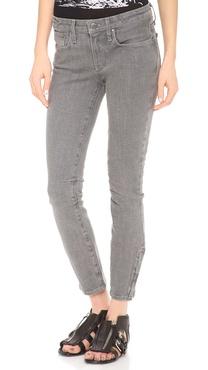 Helmut Lang Crop Skinny Jeans