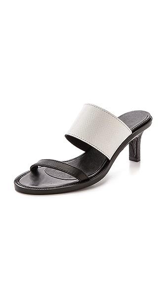 Helmut Lang Benday Sandals